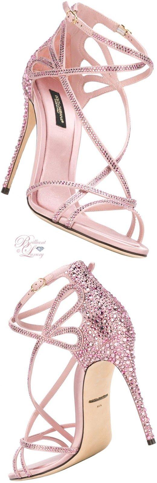 Brilliant Luxury by Emmy DE ♦ Dolce & Gabbana Keira Sandals