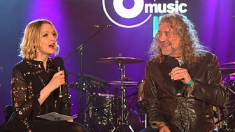 The former Led Zeppelin star chats to Lauren Laverne about his Memory Tapes.