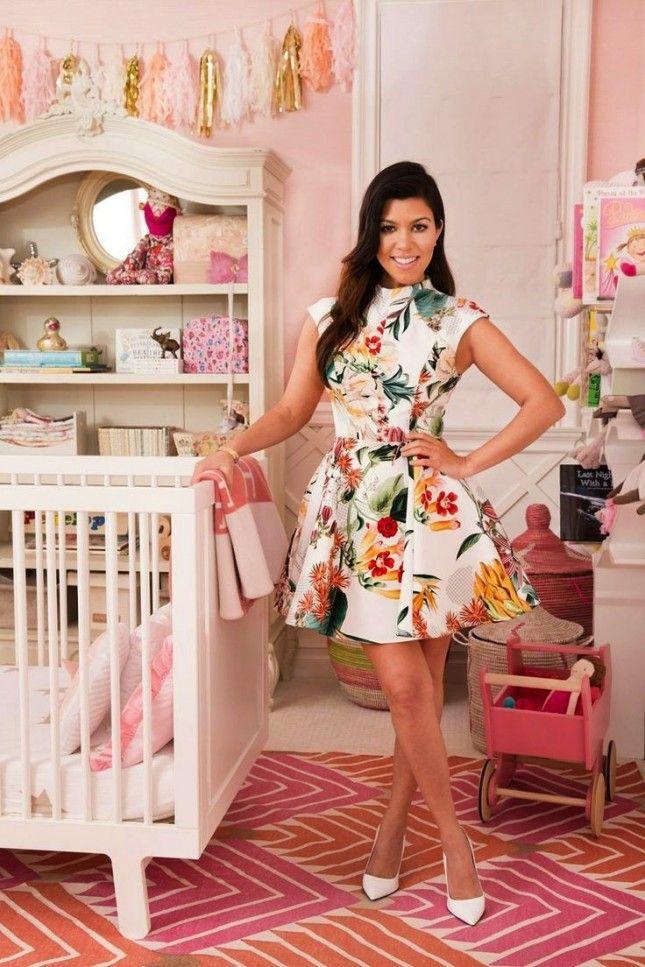 Take a Peek into 16 Dreamy Celebrity Nurseries via Brit + Co.
