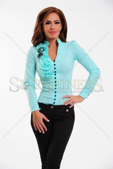 Body Fofy Frilly Look Turquoise