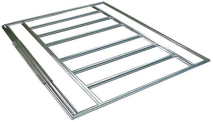 Features : - FLOOR FRAME KIT for Arrow 10x11, 10x12, 10x13 & 10x14 Sheds - Floor Frame Kit compatible with the Arrow shed sizes 10' x 11', 10' x 12', 10' x 13', and 10' x 14' sliding door units - HDG