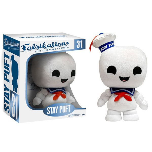 Stay Puft is disturbingly unsettling in his giant monster form, but thanks to this plush from Funko's Fabrikations line, you can enjoy a smaller, cuter version of him! Everyone's favorite mascot from Ghostbusters looks too adorable here with his little sailor uniform, heart-warming smile, and chubby body!