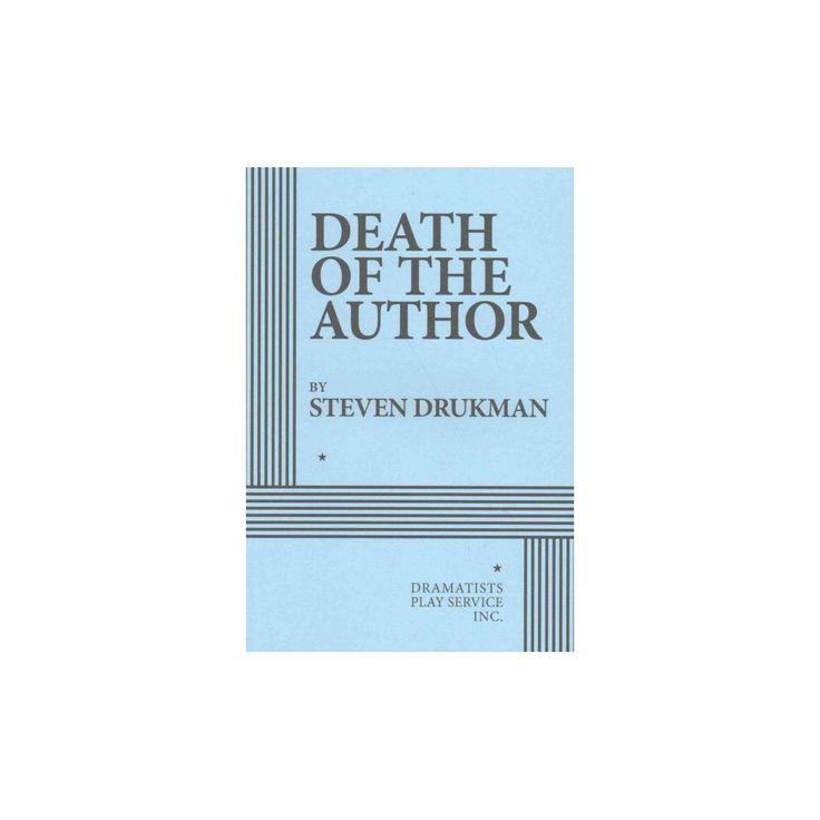 Death of the Author (Paperback) (Steven Drukman)