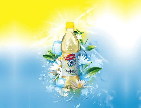Fresh and Creative Lipton ice tea print ads