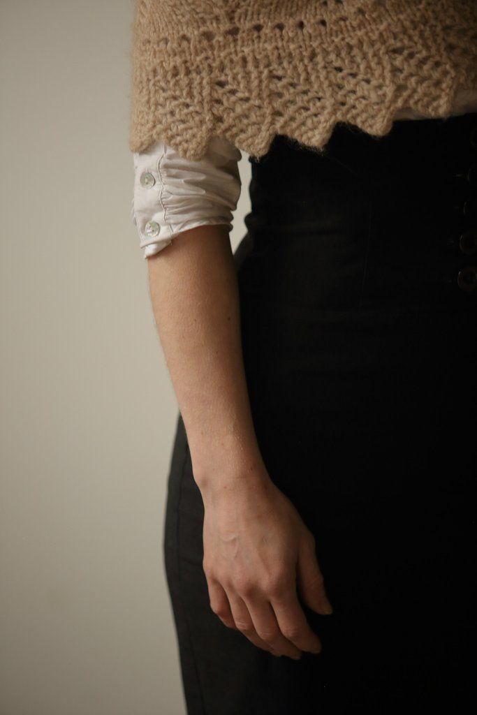 Homestead Shawl Knit Pattern