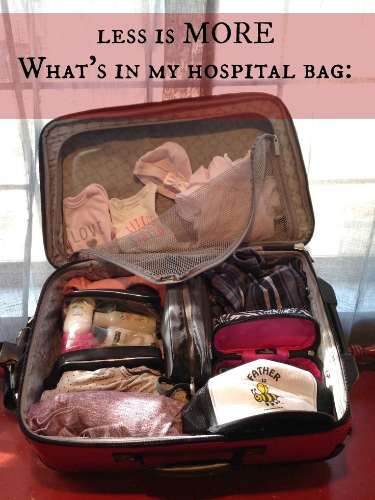 jessica lynn writes: What's in my Hospital Bag