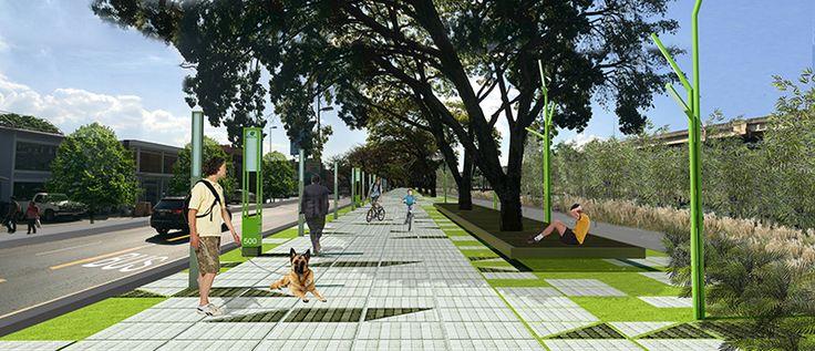 boulevard peatonal 3d - Buscar con Google
