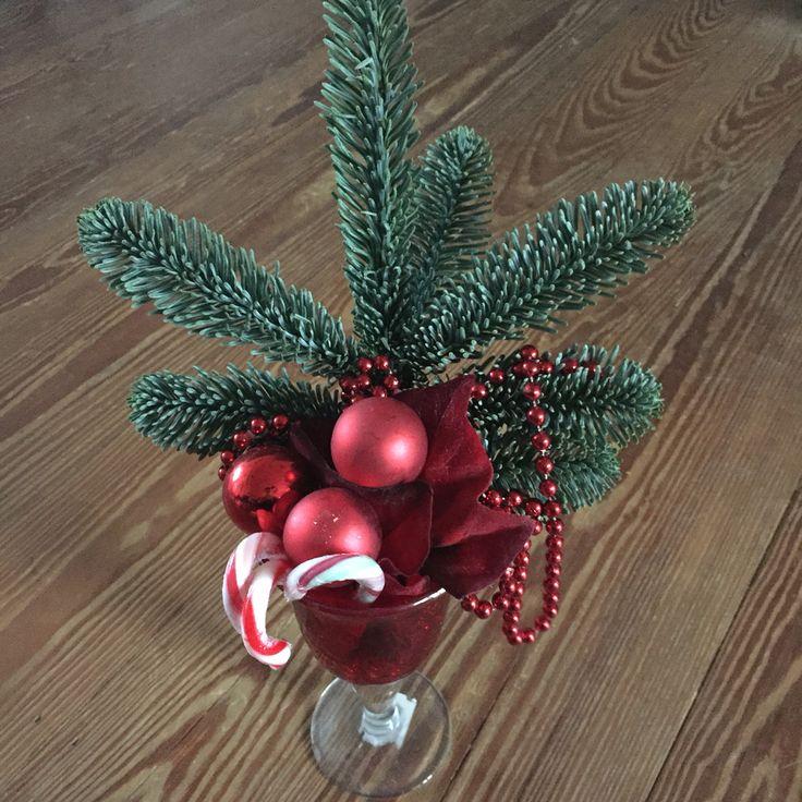 Weitere Idee für weihnachtliche Deko