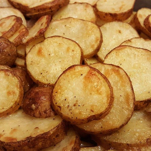 "Kristen's Parmesan Roasted Potatoes I ""The best part of these potatoes was by far the parmesan. The potatoes were evenly coated and melted during roasting to form a crunchy, flavorful crust."""