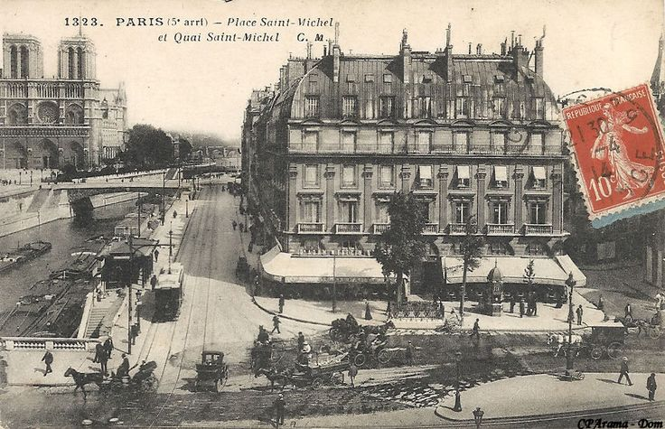 place saint michel paris - Recherche Google