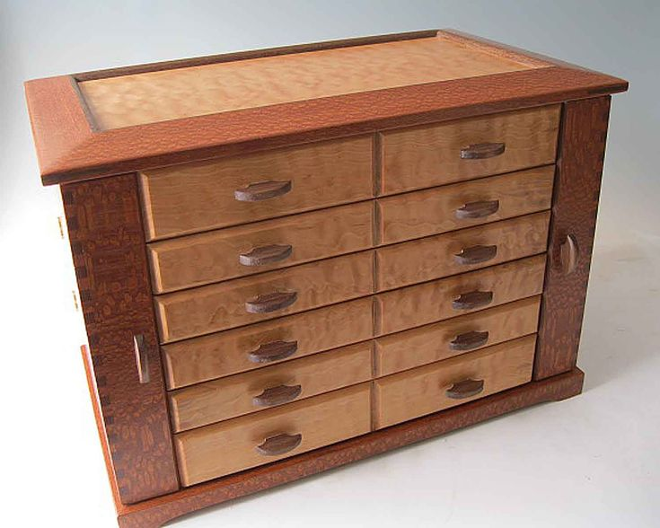 Jewelry Organizer: Gorgeous Handcrafted Jewelry Box Stores it All