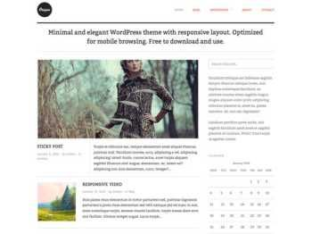 Template Origin Wordpress Theme