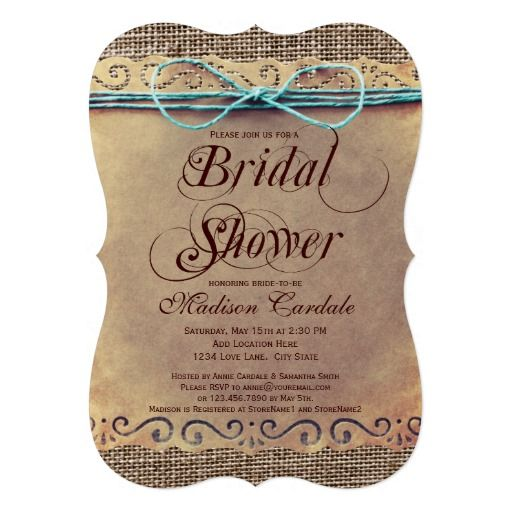 rustic country vintage bridal shower invitations vintage wedding pinterest shower invitations bridal showers and vintage bridal