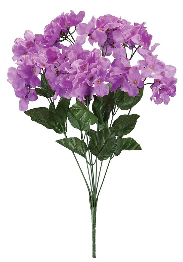 WalterDrake Artificial Light Purple Hydrangeas * You can find out more details at the link of the image.