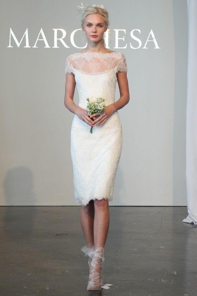 Marchesa Bridal Spring 2015 #nybridalfashionweek
