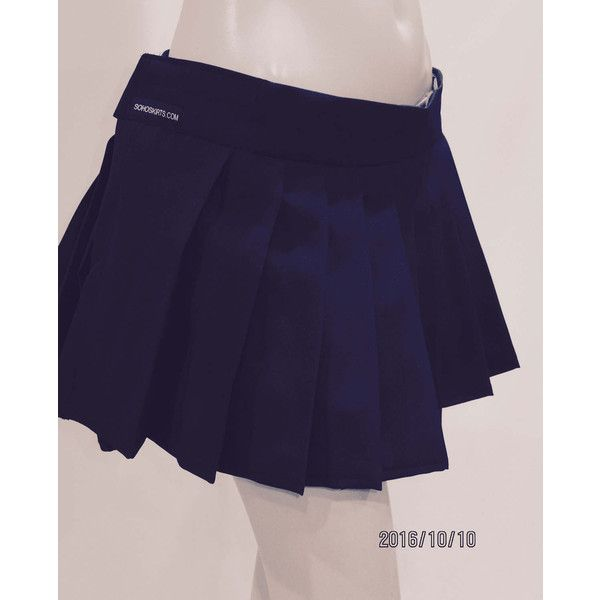Dark Navy Pleated Mini Skirt~Plus Size Navy Blue Skirts Plus Sizes... ($16) ❤ liked on Polyvore featuring skirts, mini skirts, dark olive, women's clothing, pleated mini skirt, long blue skirt, blue pleated skirt, short skirt and plus size mini skirts