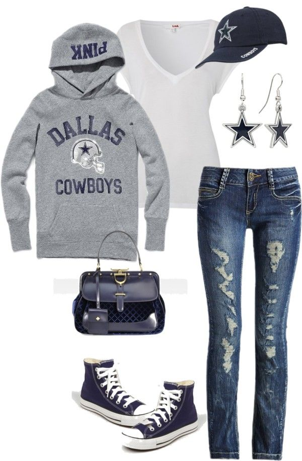 Dallas Cowboys. I'd just change the shoes to boots!