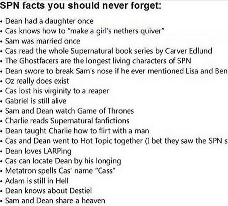 Supernatural Facts ((the whole cast spells it cass... It's so irritating. Did that second just appear?? Castiel = Cas))