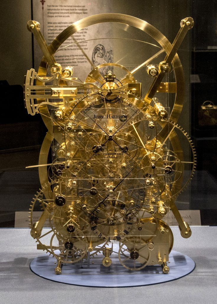 john harrison longitude clock h1, h2, h3, h4 - Google Search