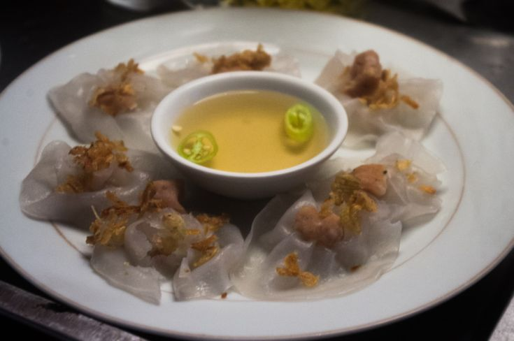 White rose dumplings, Hoi An, Vietnam