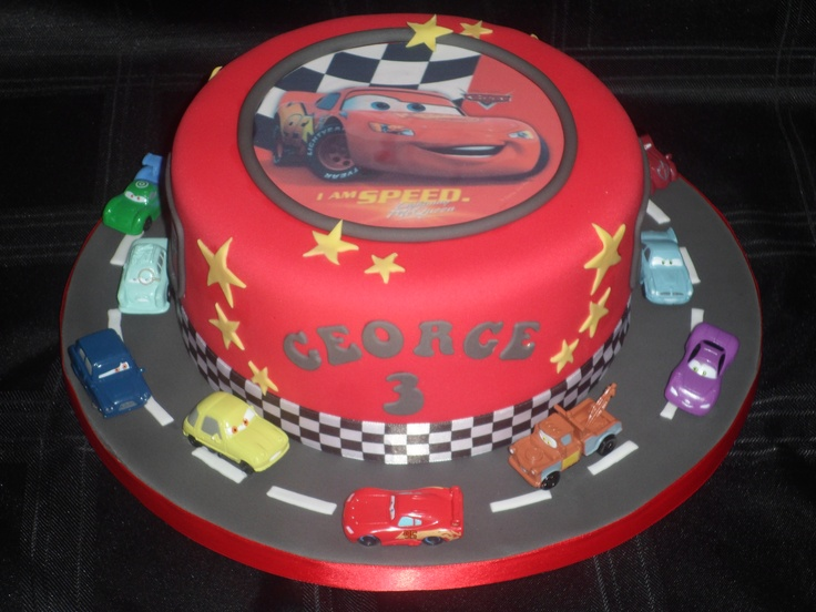 Disney Cars Cake ♡my Baby S 3rd Birthday ♡ In 2019