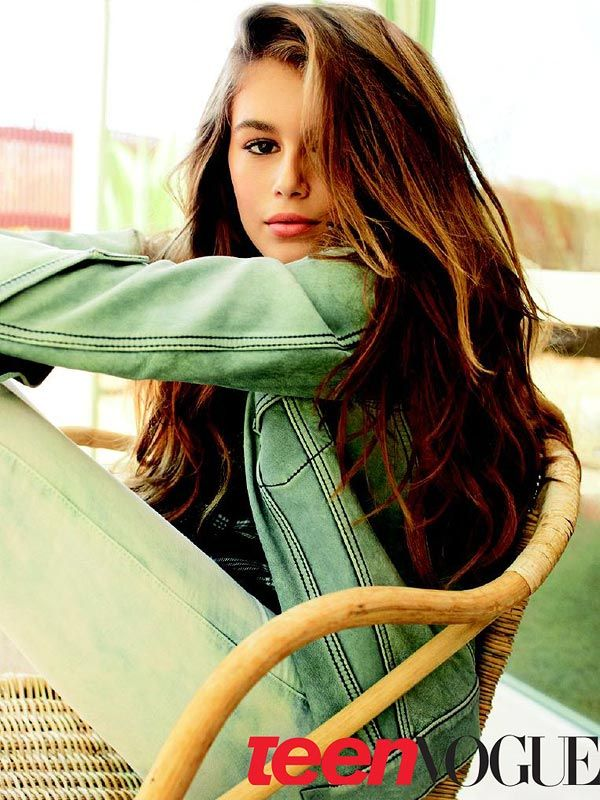 Kaia Gerber Teen Vogue...I can't believe this little beauty is 13!  Simply gorgeous!