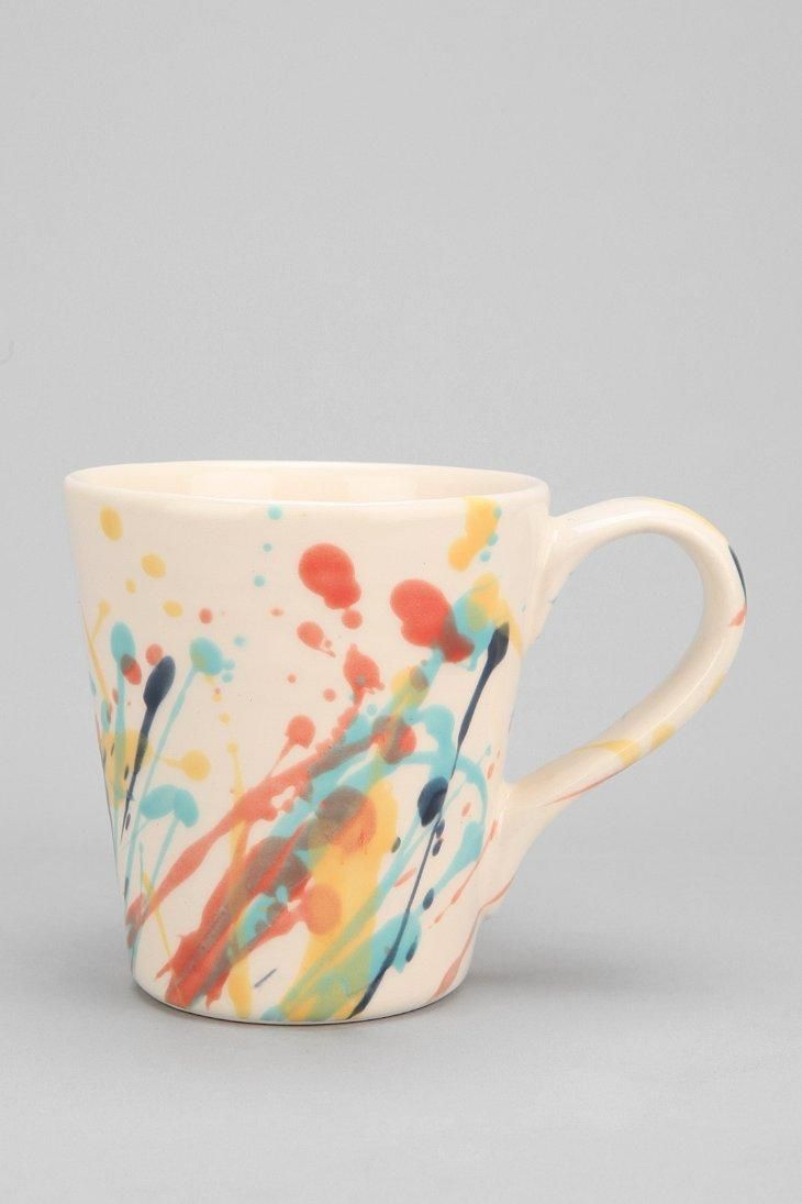 Magical Thinking Drop Cloth Mug #urbanoutfitters