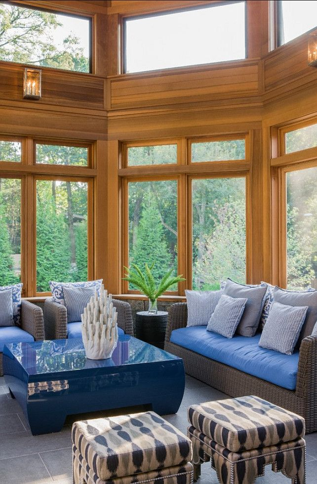 Sunroom Ideas #sunroom