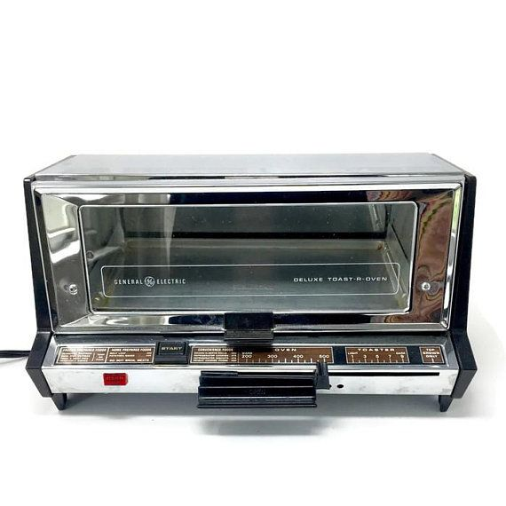 Vintage Ge General Electric Deluxe Toaster Oven Toast R Oven Model A9t93b Vintage Kitchen Appliance Oven Models Vintage Kitchen Appliances Retro Kitchen