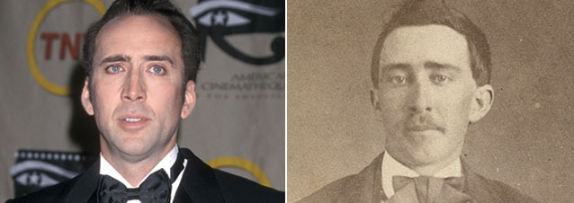 Is Nicolas Cage a Vampire from the Civil War Era?