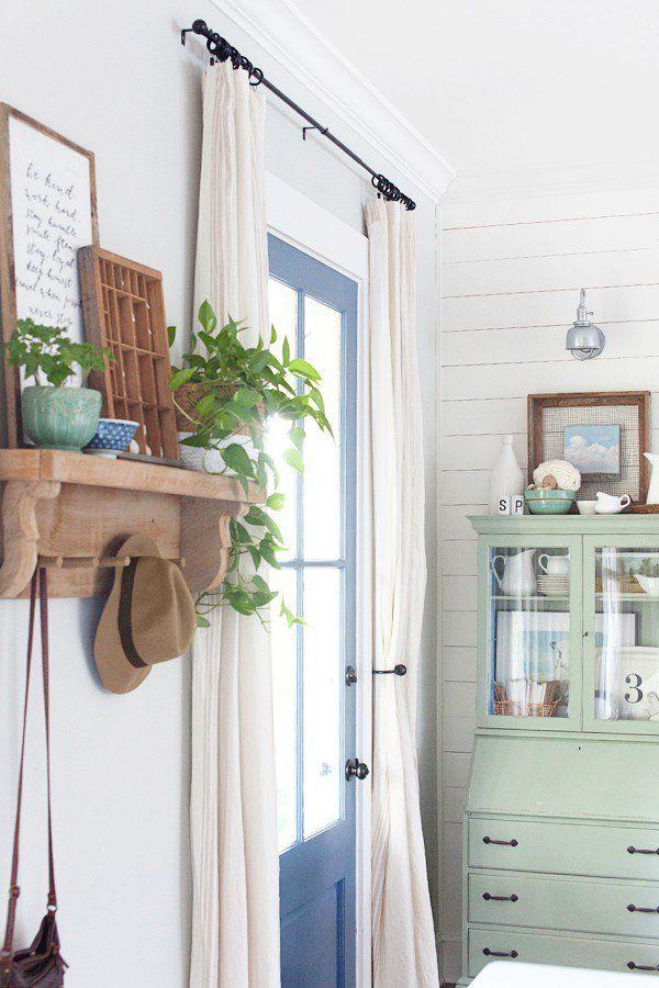 Best  Front Door Curtains Ideas On Pinterest Door Curtains - Front door curtain