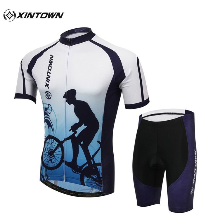 XINTOWN Fishion Cycling Jersey Clothing Ropa Ciclismo/Bicycle/Cycling Jersey Knickers Bicycle Jersey Bib Pants Set+Gel Pad