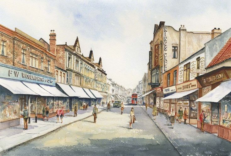 Bishop Auckland | ukwatercolours