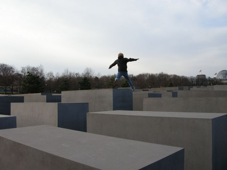 #Photograph #Jump - Berlin by Chiara Villata on #500px #Memorial to the #Murdered #Jews of Europe, #Berlin #Germany