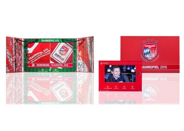 Die Traumspielbox ist eine hochwertige Verpackung mit einem einzigartigen Design. Im Inneren befindet sich ein Bewegtbildmonitor (Moviecase). Die kreative Verpackung wurde digital veredelt. #verpackungsdesign #hochwertigeverpackung #verpackung