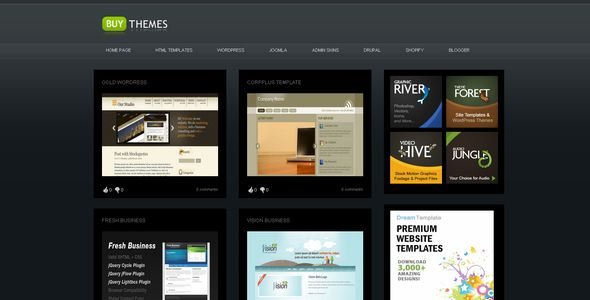 Buy Themes - Blogger Gallery Template