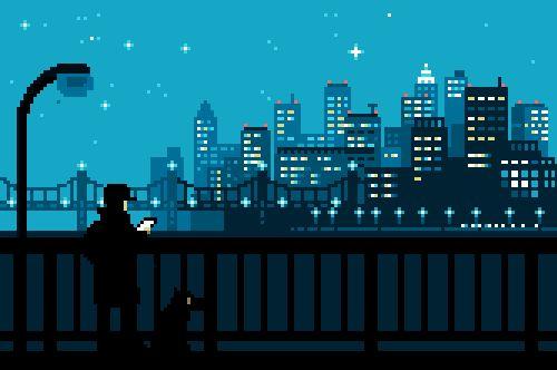 Buen trabajo del ilustrador japonésToyoi Yuuta quien a través de su Tumblr1041uuu nos muestra una buena colecciónilustraciones personales hechas pixel por pixel de las cuales anima sutiles