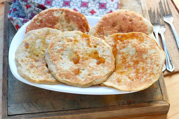 Pancakes sans gluten avec seulement 3 ingrédients