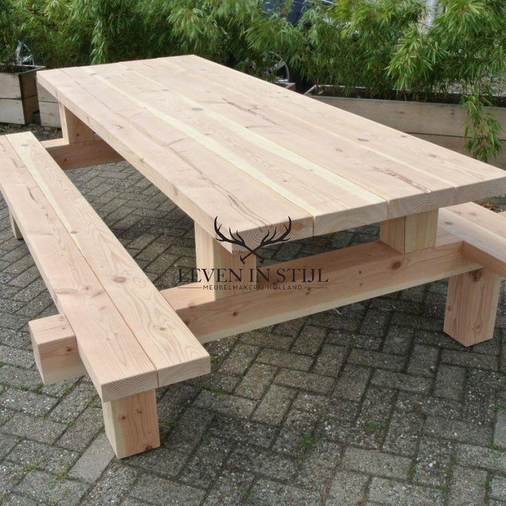 25 beste idee n over pallet picknicktafels op pinterest kinderpicknick feestjes lage tafels for Buiten patio model