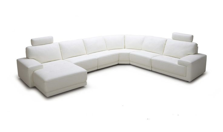 816 Modern Black And White Leather Sectional Sofa Tufted Sets Best 25+ Sectionals Ideas On Pinterest ...