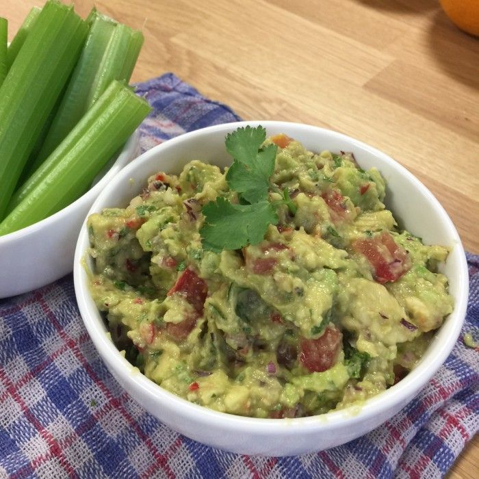 Snack time: try this super easy homemade guacamole / The Body Coach Blog / The Body Coach