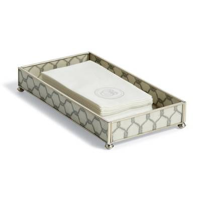 Pacifica Guest Towel Tray   Frontgate