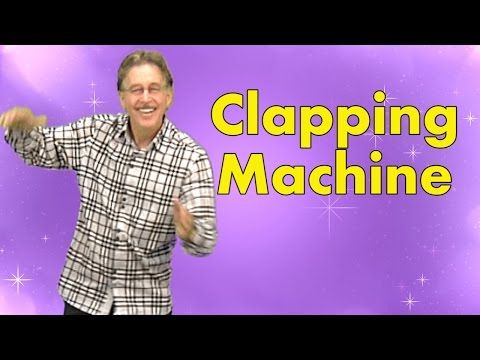 Clapping Machine is a great brain breaks song engaging kids with clapping patterns   Jack Hartmann - YouTube