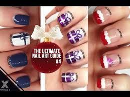 Resultado de imagen para gifts and tree xmas nails