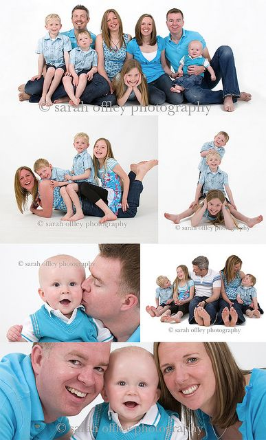 Family Fun Portrait Session by Sarah Offley Photography, via Flickr