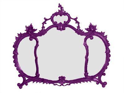31.05.10 Specchio barocco viola myartistic