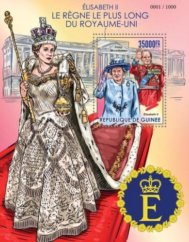 GU15425b The longest reigning Queen Elizabeth II (Philip Mountbatten)