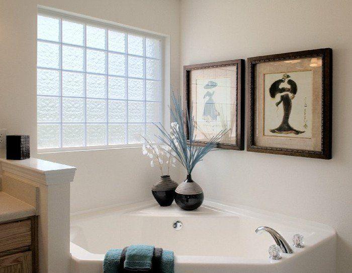Les 81 meilleures images du tableau briques de verre sur - Pave de verre salle de bain ...