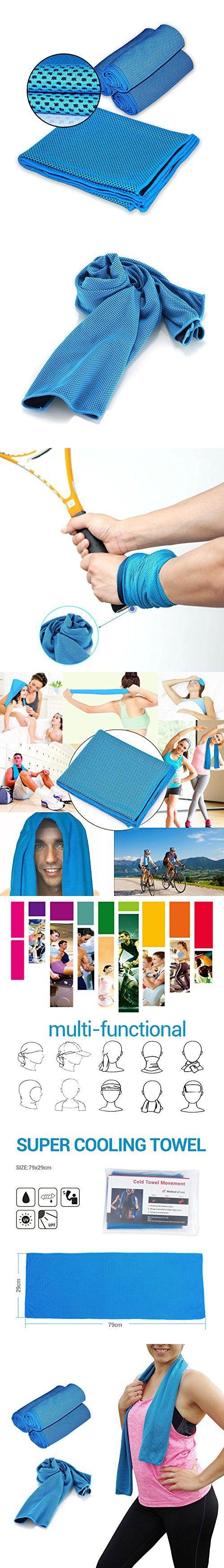 Sport Towels - Vitalismo Outdoor Golf Towels Gym Fast Drying Yoga Towels Super Absorbent Towel