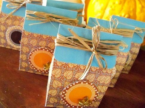 Thanksgiving Party Favors #thanksgiving #partyfavors